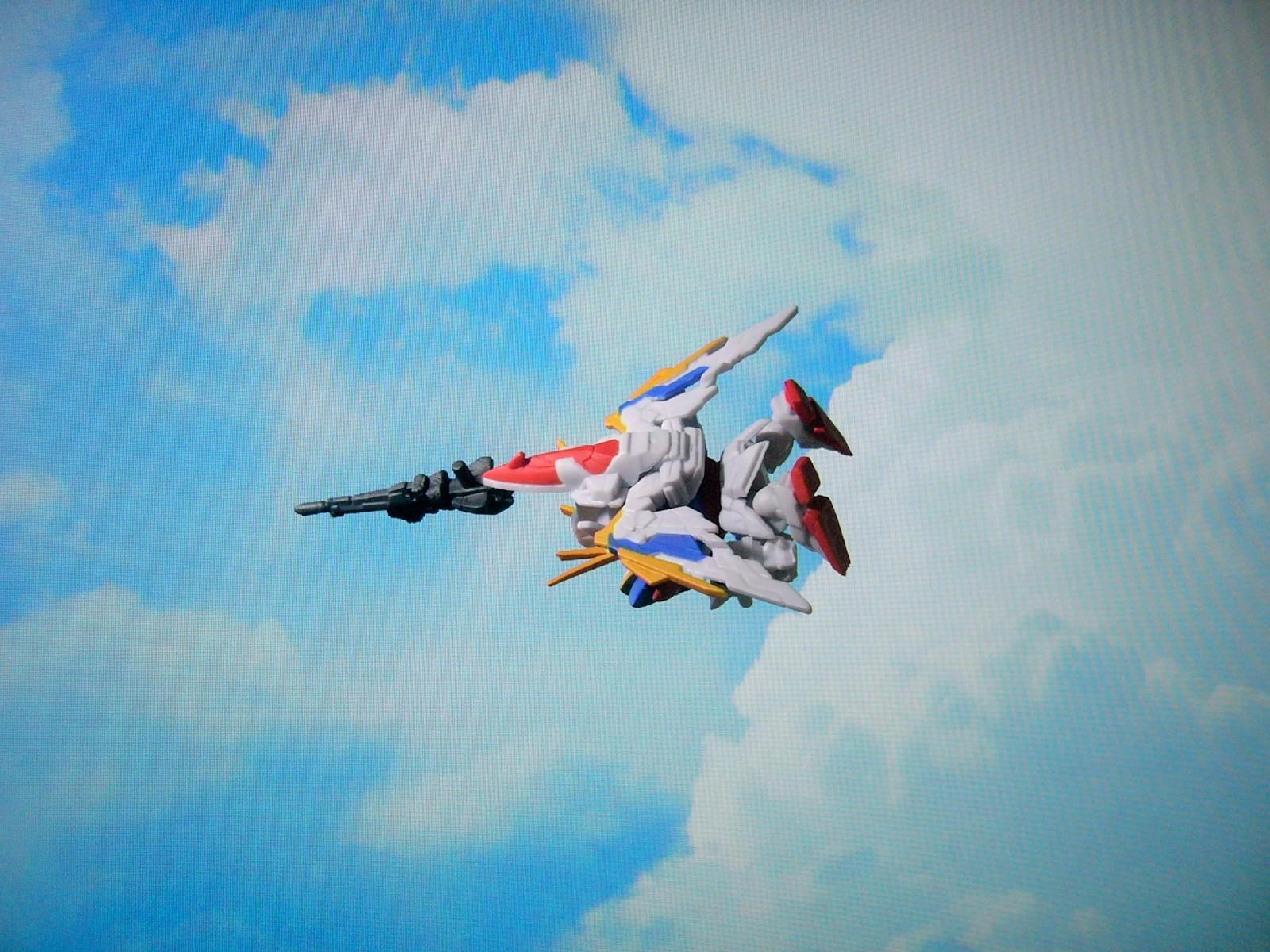 ガシャポン戦士DASH03XXXG-01W ウィングガンダム(EW版)