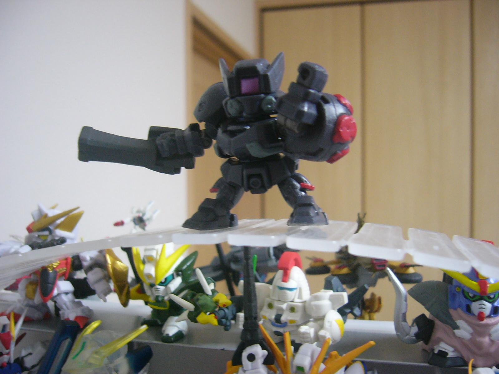 ガシャポン戦士DASH03 OZ-02MDビルゴ