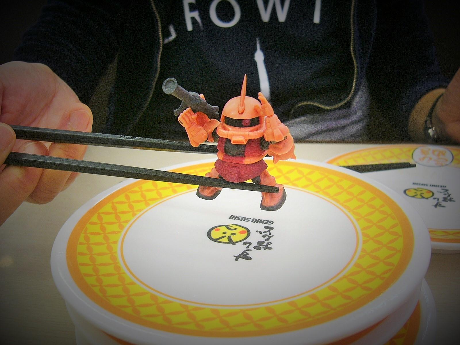 ガシャポン戦士 寿司 すしおんど 美味しい ランチ ディナー 人気 回転すし