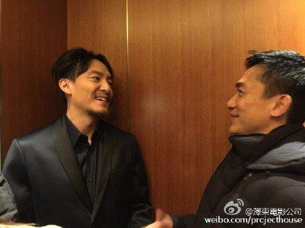 トニーさん&チャン・チェン@北京