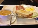微風商務飯店の朝食