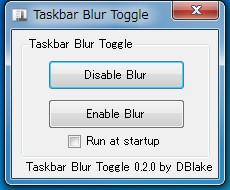 Taskbar Blur Toggle18-269 - コピー