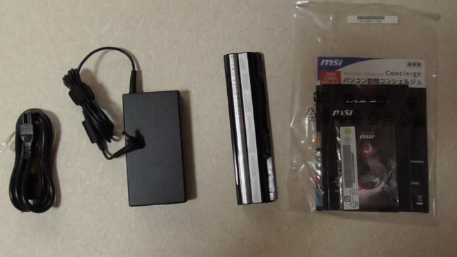 msi製ノートパソコンのレビュー3-517