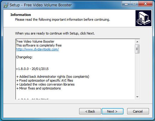 ソフトFree Video Volume Booster-27 02-03-26-878
