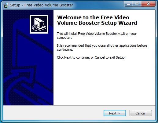 ソフトFree Video Volume Booster-03-21-572