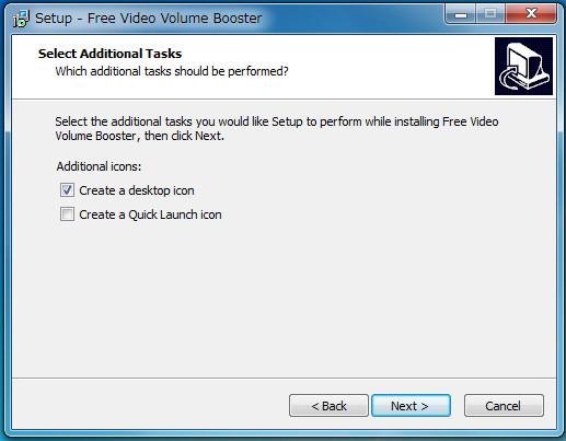 ソフトFree Video Volume Booster14-432