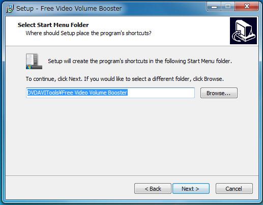 ソフトFree Video Volume Booster3-51-749