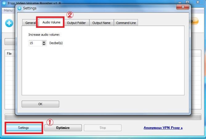 ソフトFree Video Volume Booster6-44-903