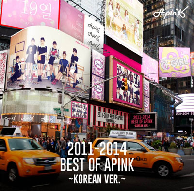 APink「2011-2014 Best of Apink~Korean Ver.~」
