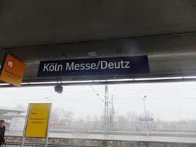 ケルンメッセ駅
