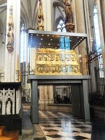 ケルン大聖堂東方三博士黄金の棺