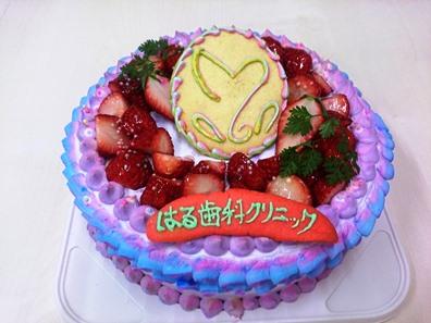 小川さん手作りケーキ