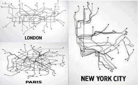 各都市路線マップ~