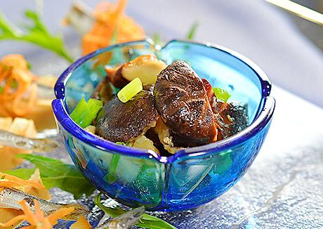 椎茸のオイル煮