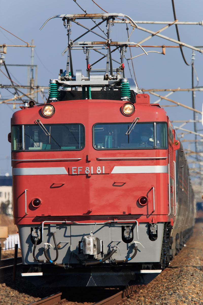 回9062レ カシオペアクルーズ EF81-81