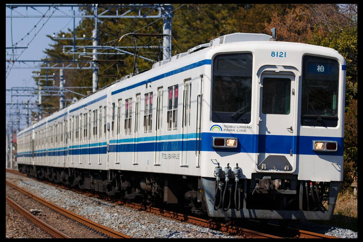 東武野田線8000系 運河〜江戸川台