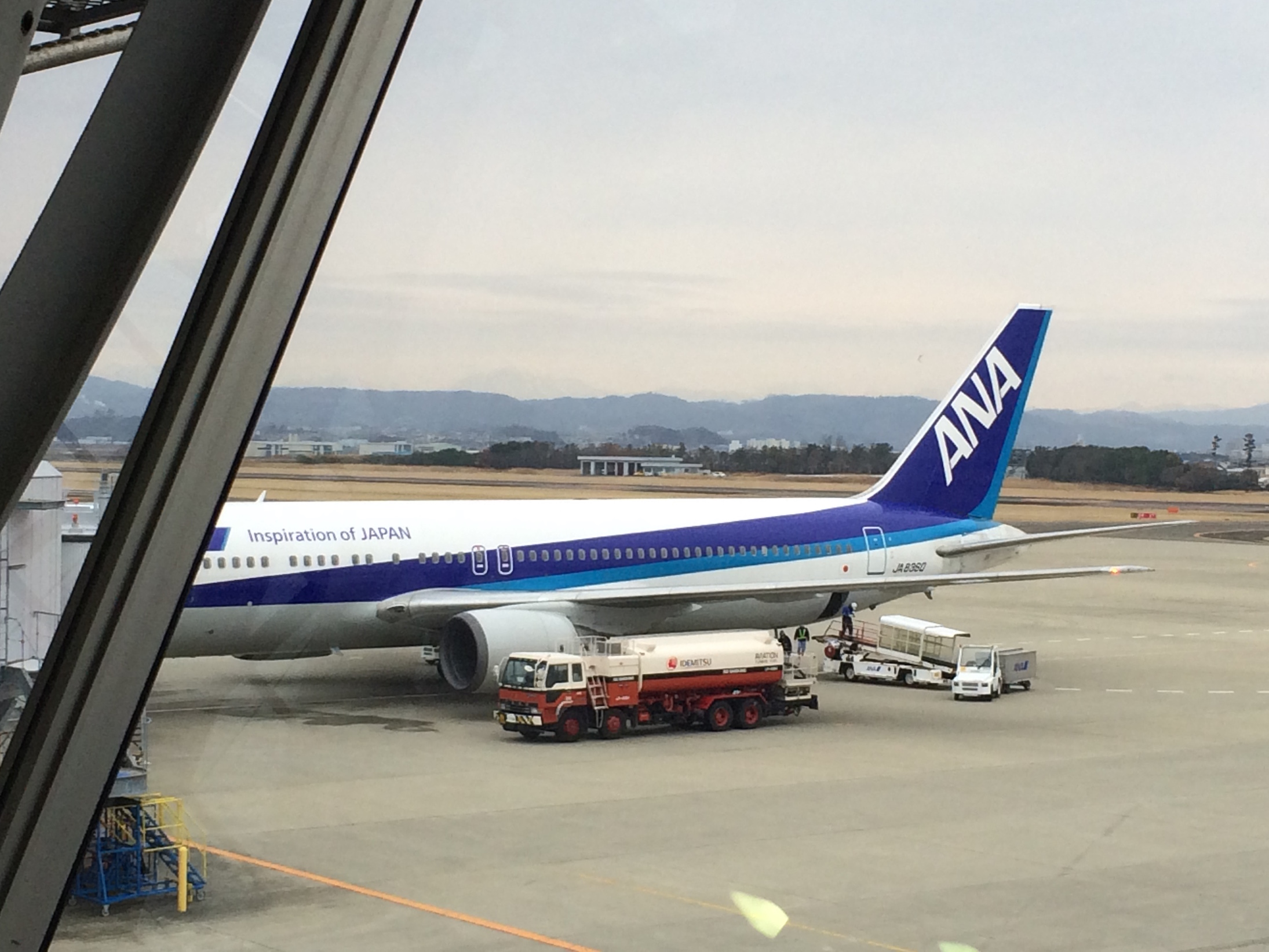 ANA福岡行き