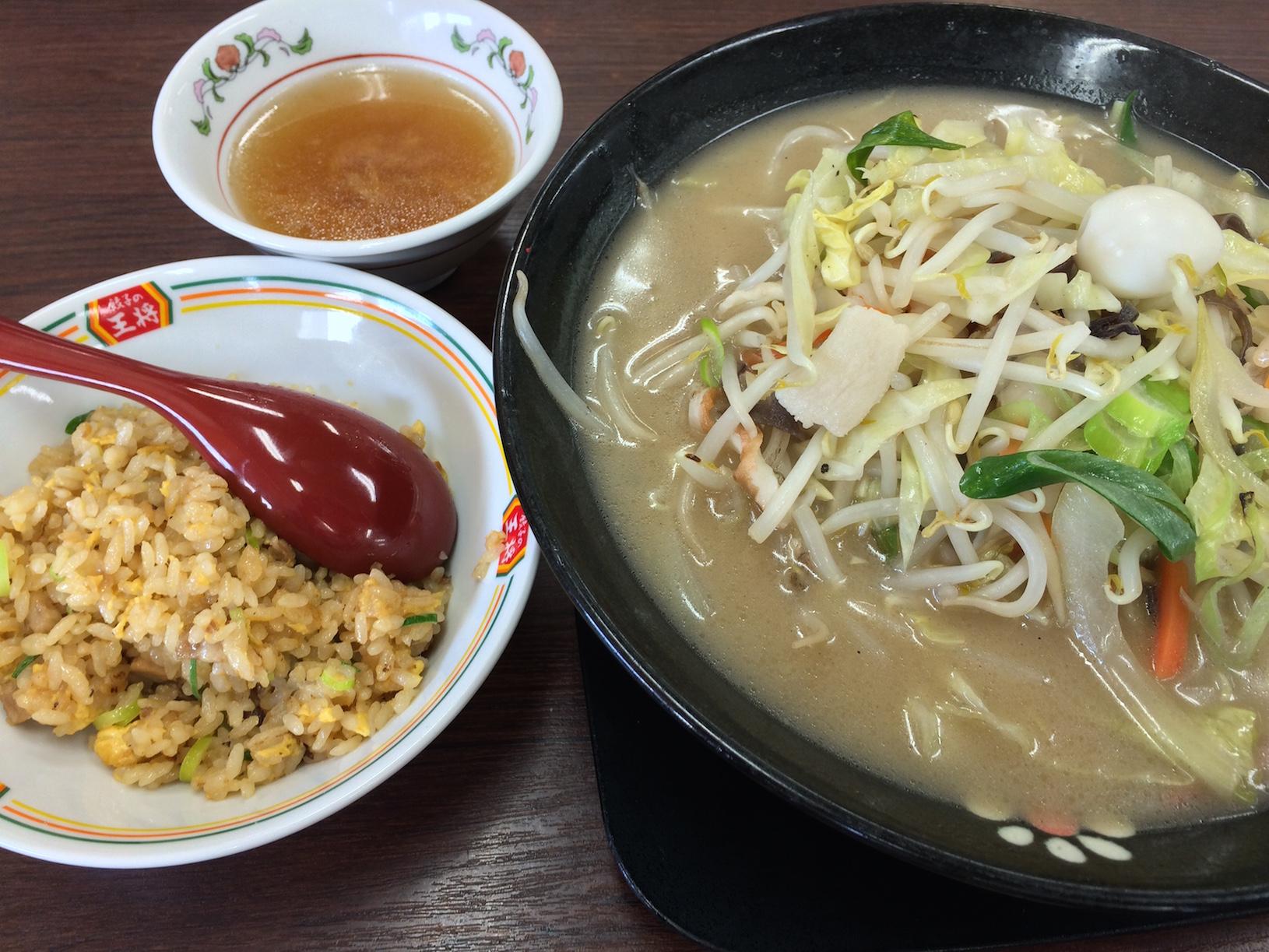 チャンポン&炒飯