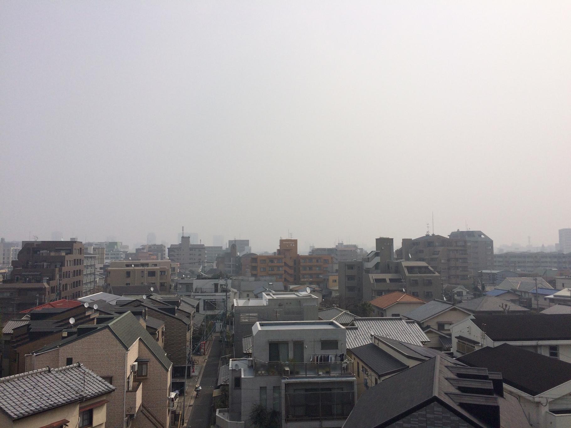 黄砂&PM2.5