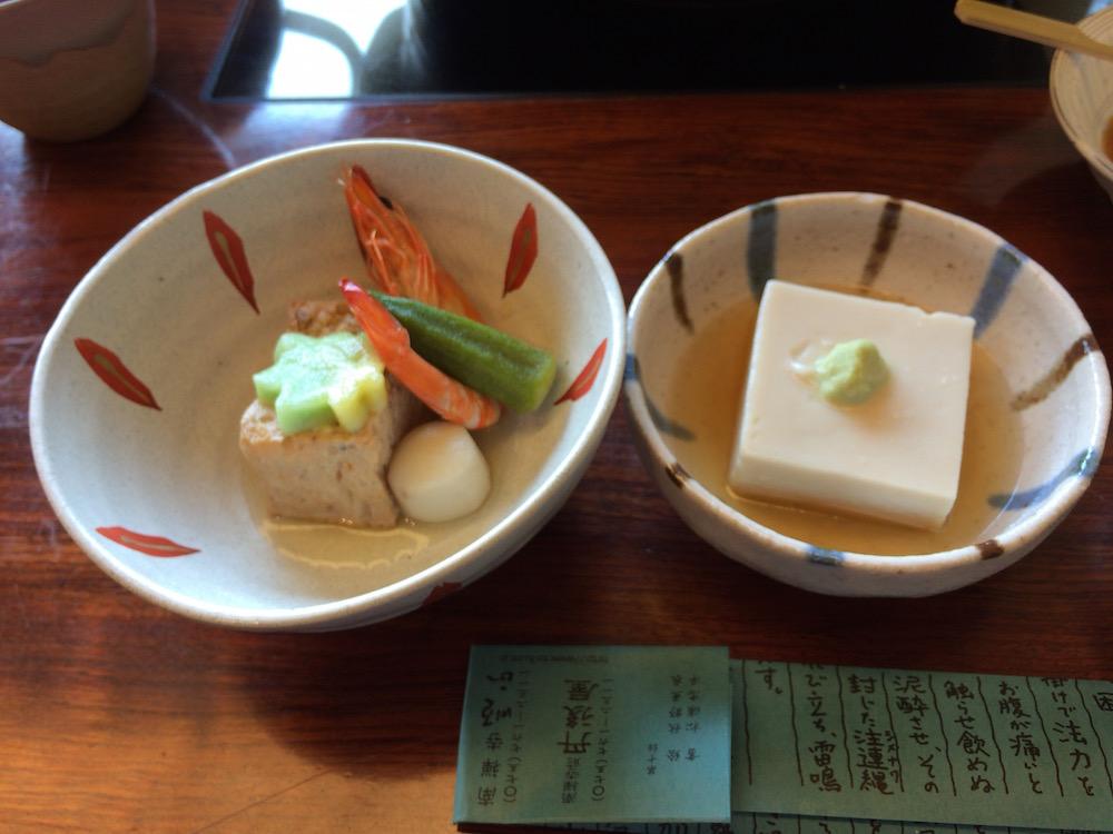 高野豆腐、にもの