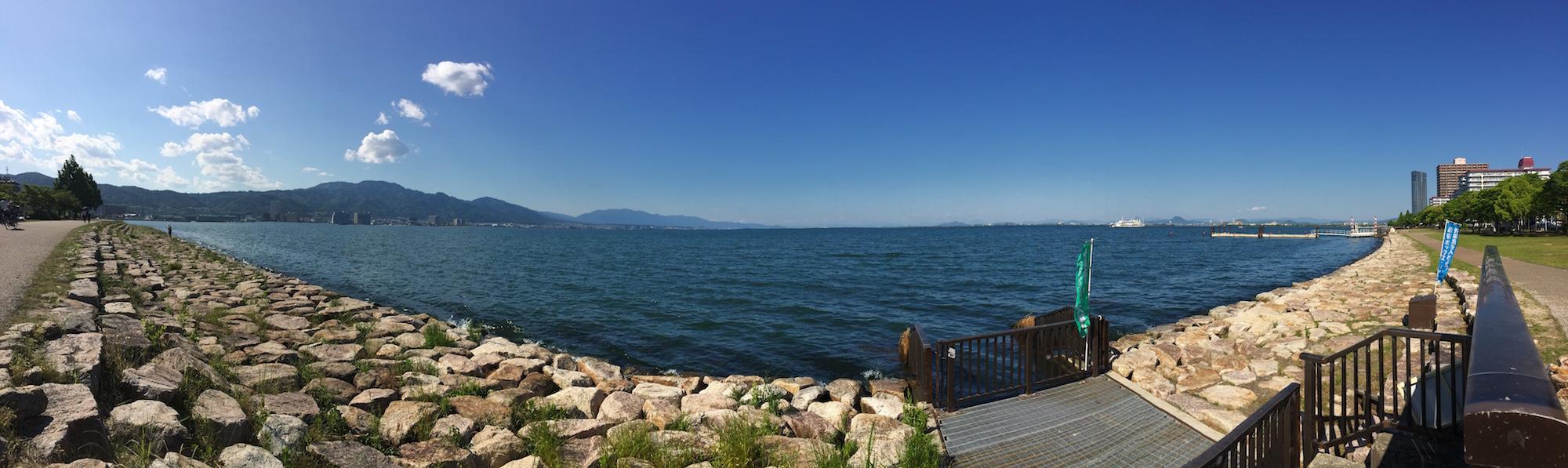 琵琶湖パノラマ