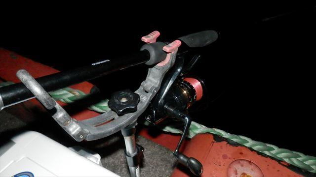 4:27 釣り開始 ♪
