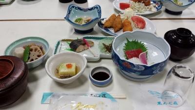 初日 夕食