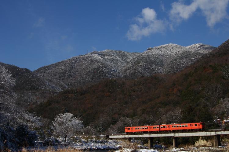 キハ47-63+47-3009 狩留家-白木山