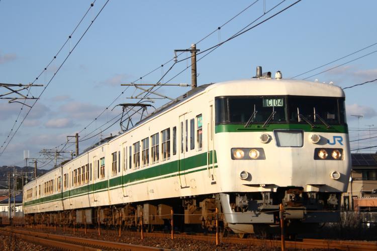 117系300番台 C104 厚狭-小野田
