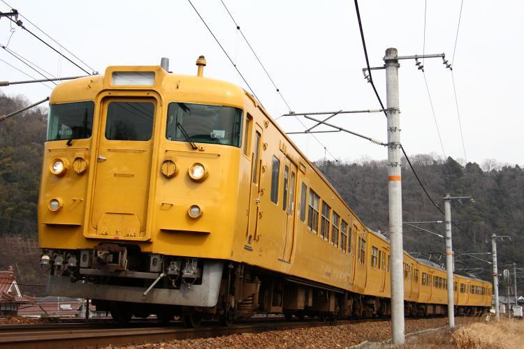 115系3000番台 N-16 白市-入野
