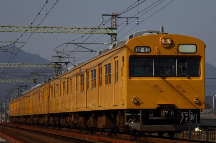 103系D-03+D-02 大竹-和木