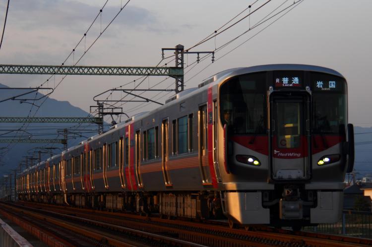 227系A-02+A-06+S-01 8両 和木-大竹