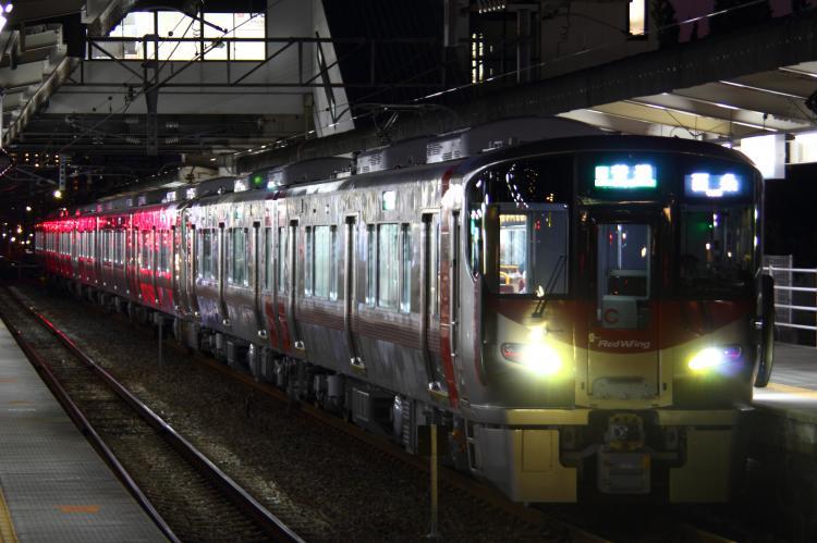227系S-02+A-??+A-?? 海田市
