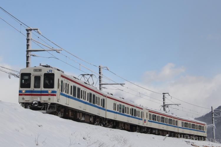 105系K-07+K-10 4両 上八木-中島