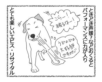 羊の国のラブラドール絵日記シニア!!「エビス・リサイタル」3
