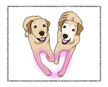 羊の国のラブラドール絵日記シニア!!「愛と告白」1