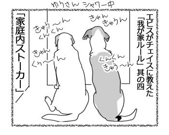 羊の国のラブラドール絵日記シニア!!「エビス先輩」4