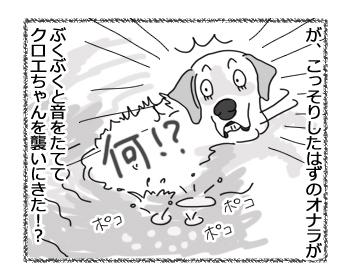 羊の国のラブラドール絵日記シニア!!「未確認水中物体とは!?」3