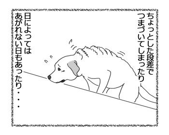 羊の国のラブラドール絵日記シニア!!「拾い食いのバカ力」1