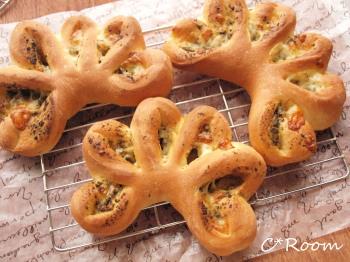 バジルチーズパン1