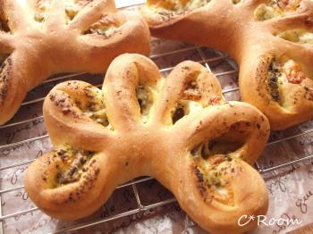 バジルチーズパン3