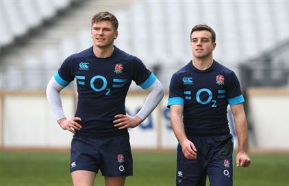 Owen+Farrell+George+Ford+England+Captain+Run+fKIjpHShcTjl (PSP)