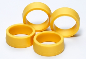 LOW-PROFILE OFFSET TREAD TIRES(HARD YELLOW)