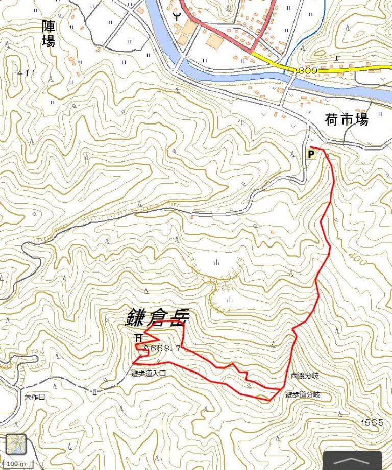 竹貫鎌倉岳