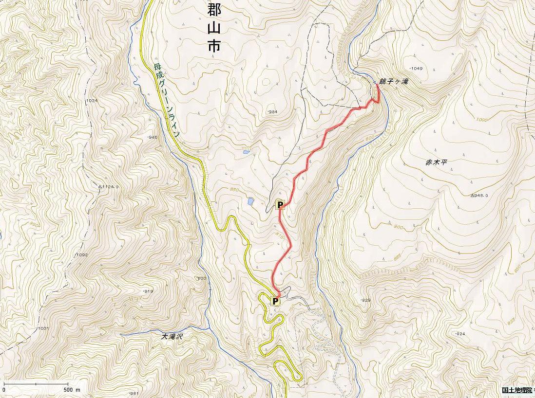 銚子ヶ滝2014