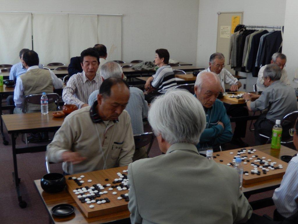 3回早慶囲碁 熱戦 1