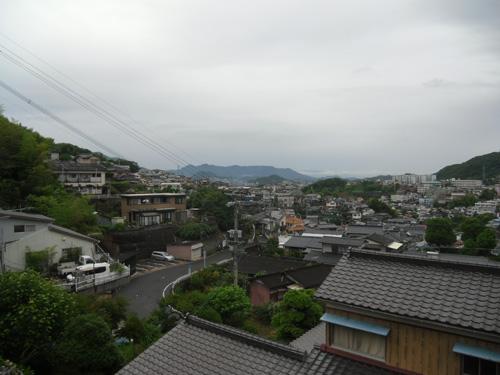 今日の長崎の空模様はこんな感じー!