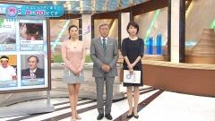 菊川怜ミニスカニットセーター乳画像2