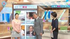 菊川怜ミニスカニットセーター乳画像3