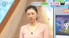 菊川怜ミニスカニットセーター乳画像6